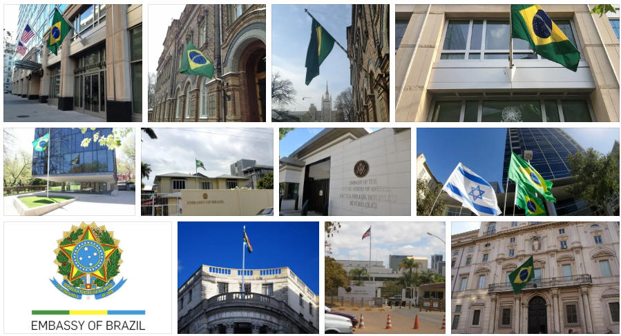 Brazil embassies and consulates