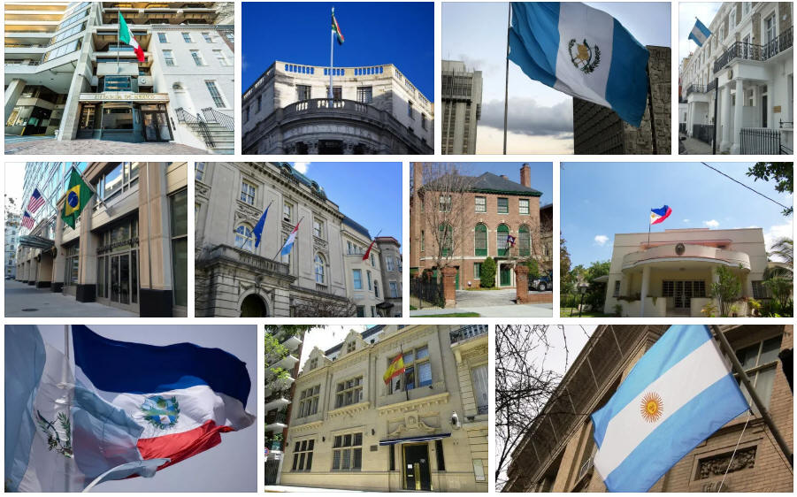 Guatemala embassies and consulates