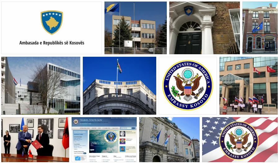 Kosovo embassies and consulates