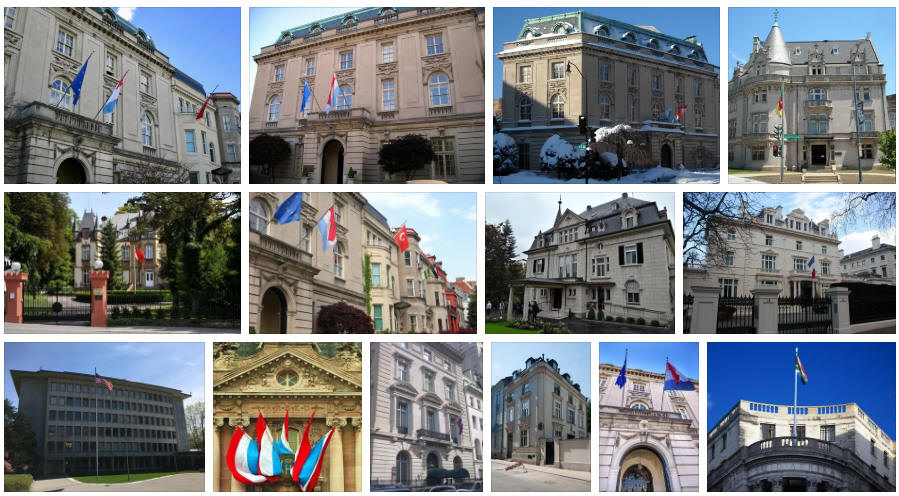 Luxembourg embassies and consulates