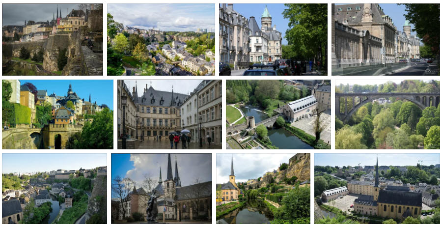 Luxembourg: Various travel information