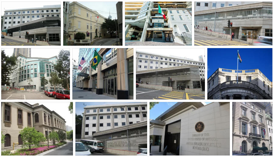 Macau embassies and consulates