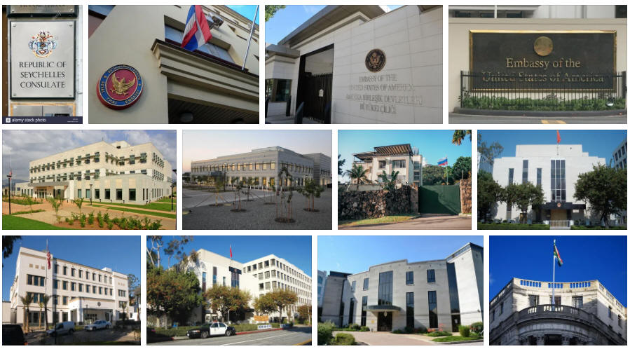 Seychelles embassies and consulates