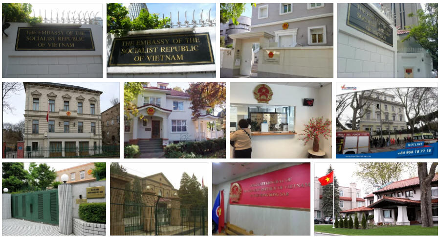 Vietnam embassies and consulates