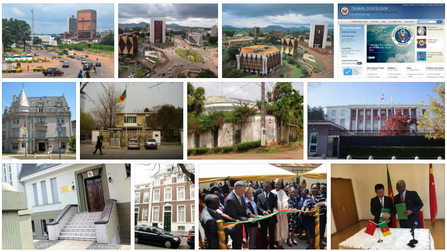 Cameroon embassies and consulates