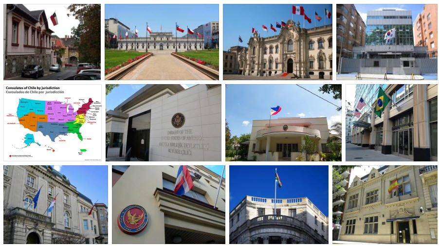 Chile embassies and consulates