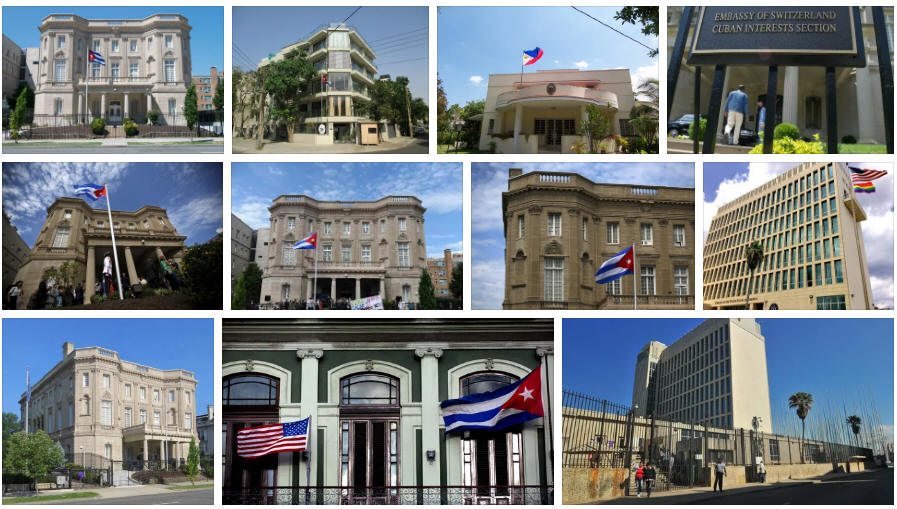Cuba embassies and consulates