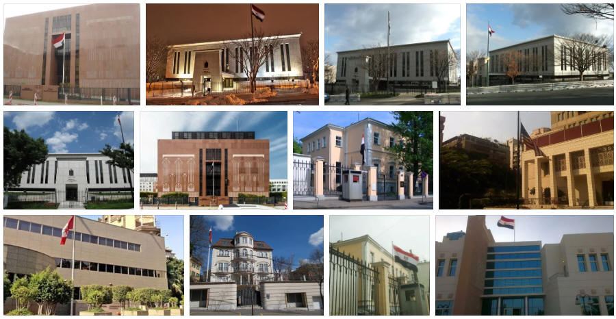 Egypt embassies and consulates