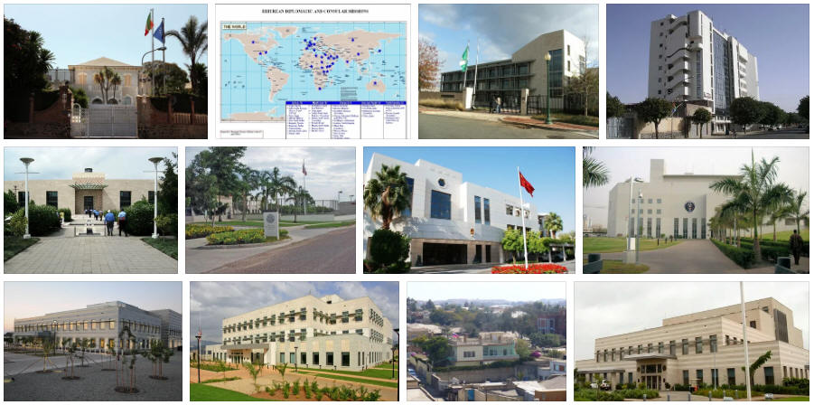 Eritrea embassies and consulates