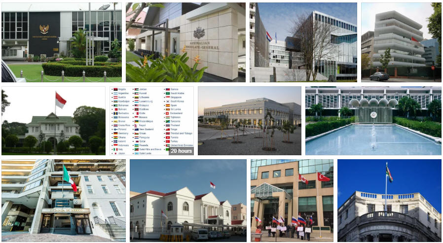 Indonesia embassies and consulates