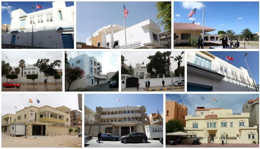 Libya embassies and consulates