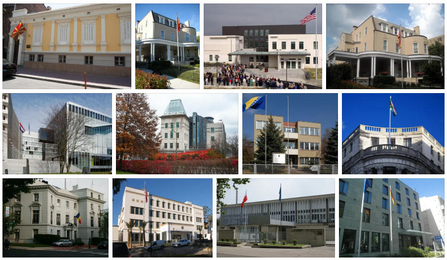 Macedonia embassies and consulates