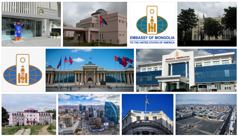 Mongolia embassies and consulates