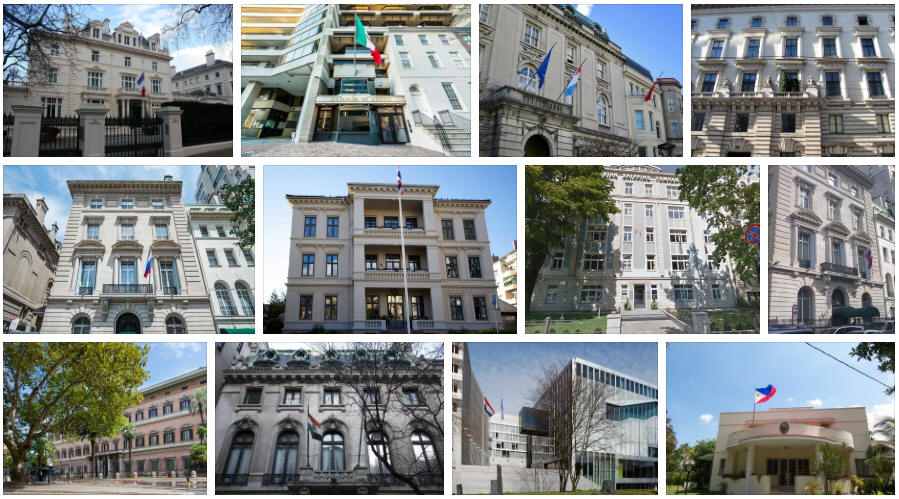 Palau embassies and consulates