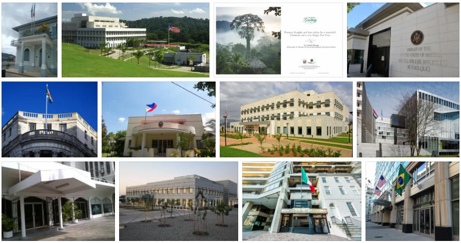 Panama embassies and consulates