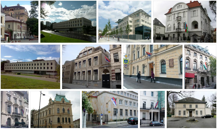Serbia embassies and consulates